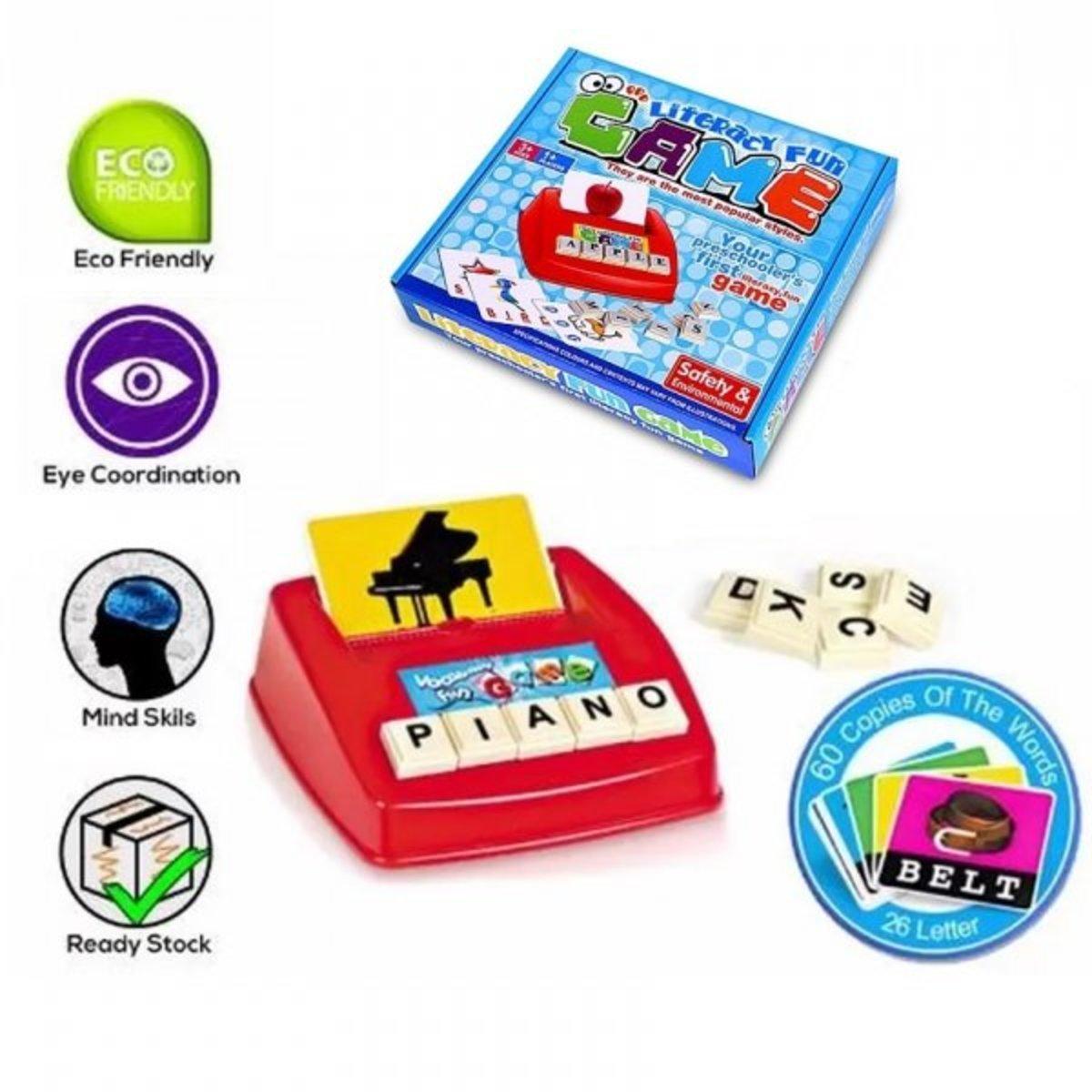 English Literacy Fun Game