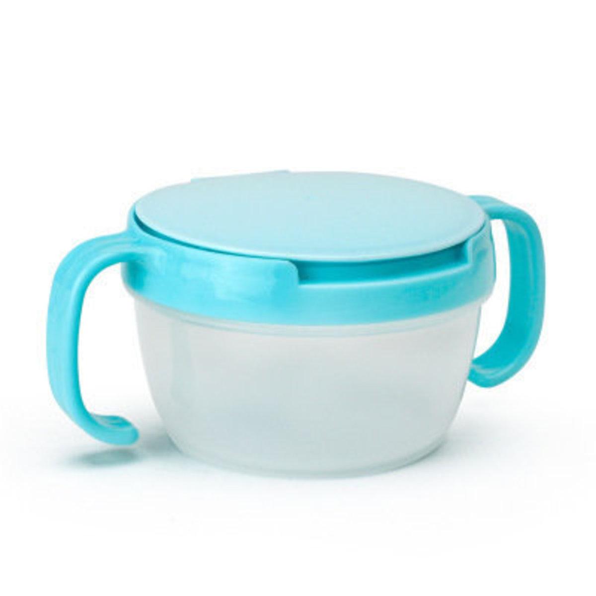 嬰兒防漏零食杯 (藍色)