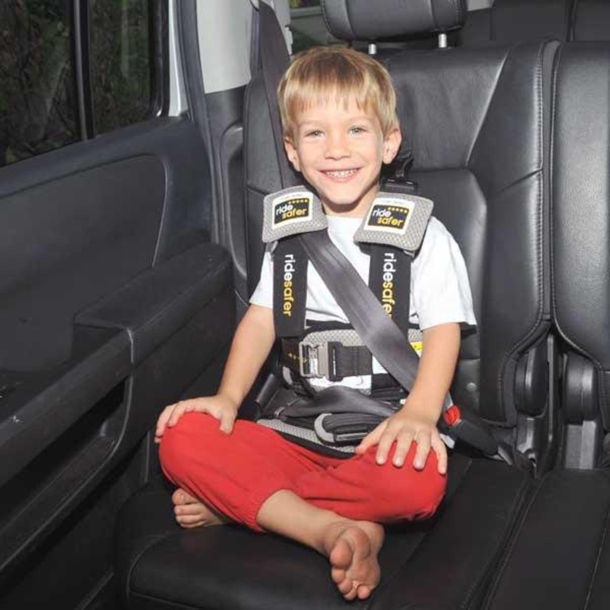 Delight 穿戴式汽車兒童安全座椅 (大碼) (黑色)