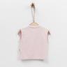 Organic Baby Vest (Pink)-56cm (1-3M)