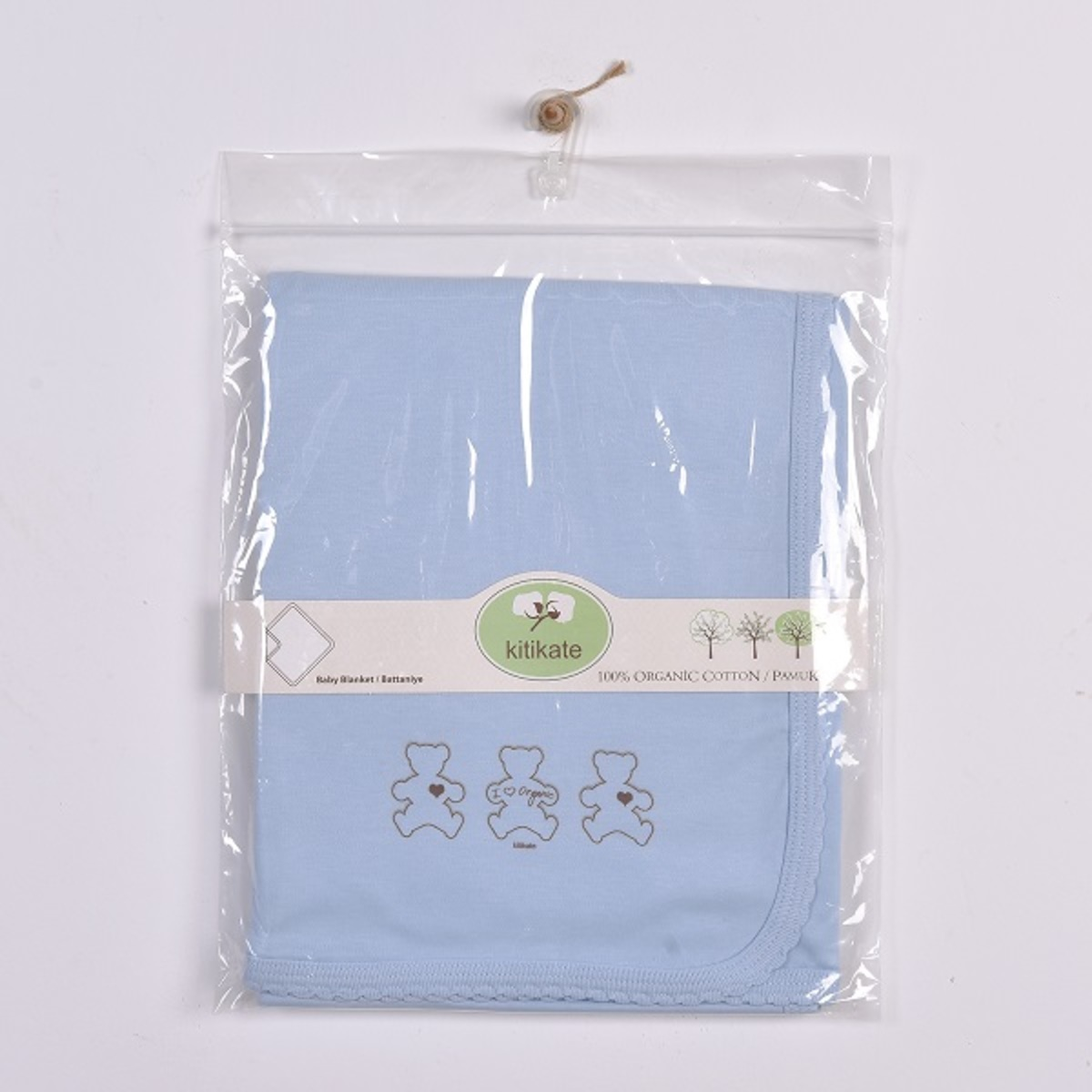 Organic Blanket (Blue)