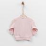 嬰兒有機棉長袖外套 (粉紅色)-56cm (1-3M)