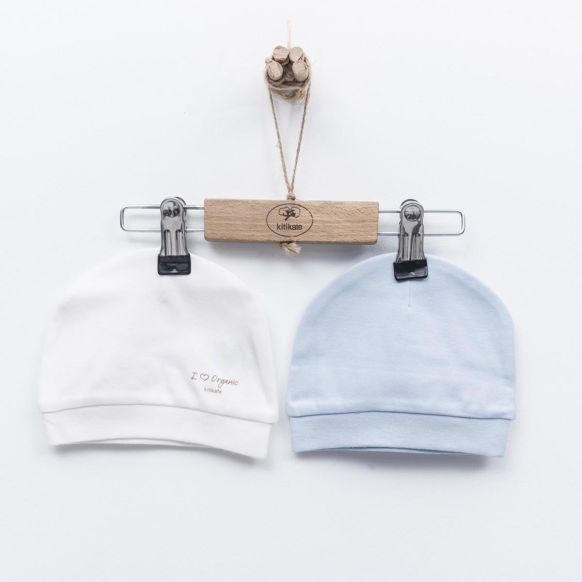 Organic Cap (2pcs)-Blue