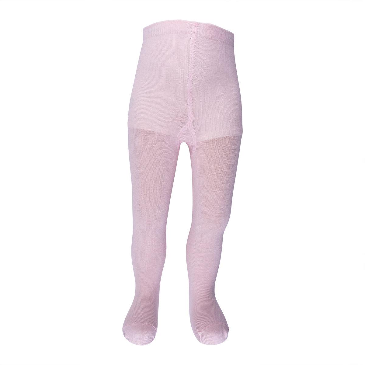 嬰兒有機棉襪褲 (粉紅色)-0-6M