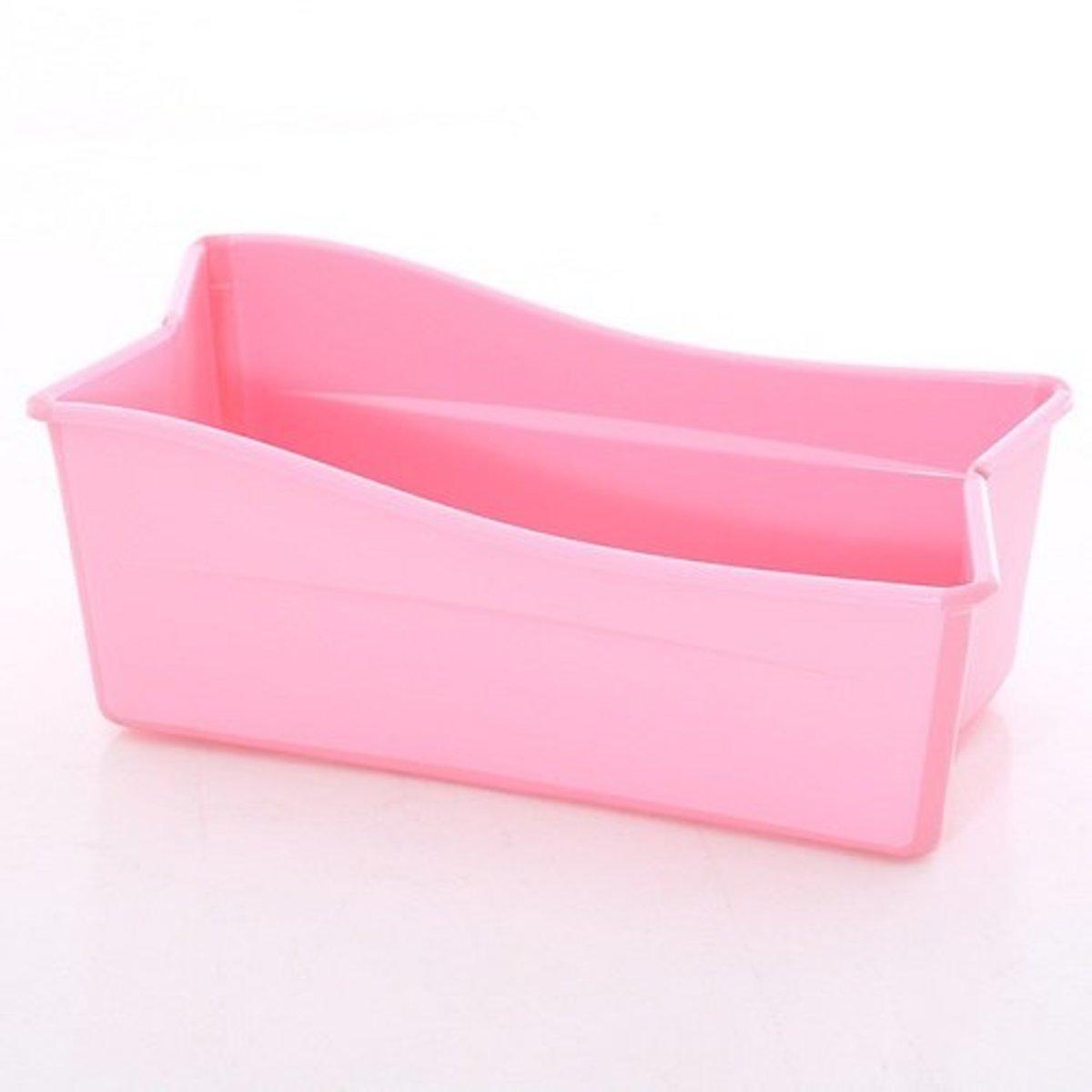 便攜折疊式嬰兒浴盆-粉紅色