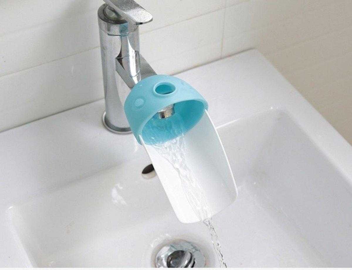 水龍頭伸延器 (藍色)