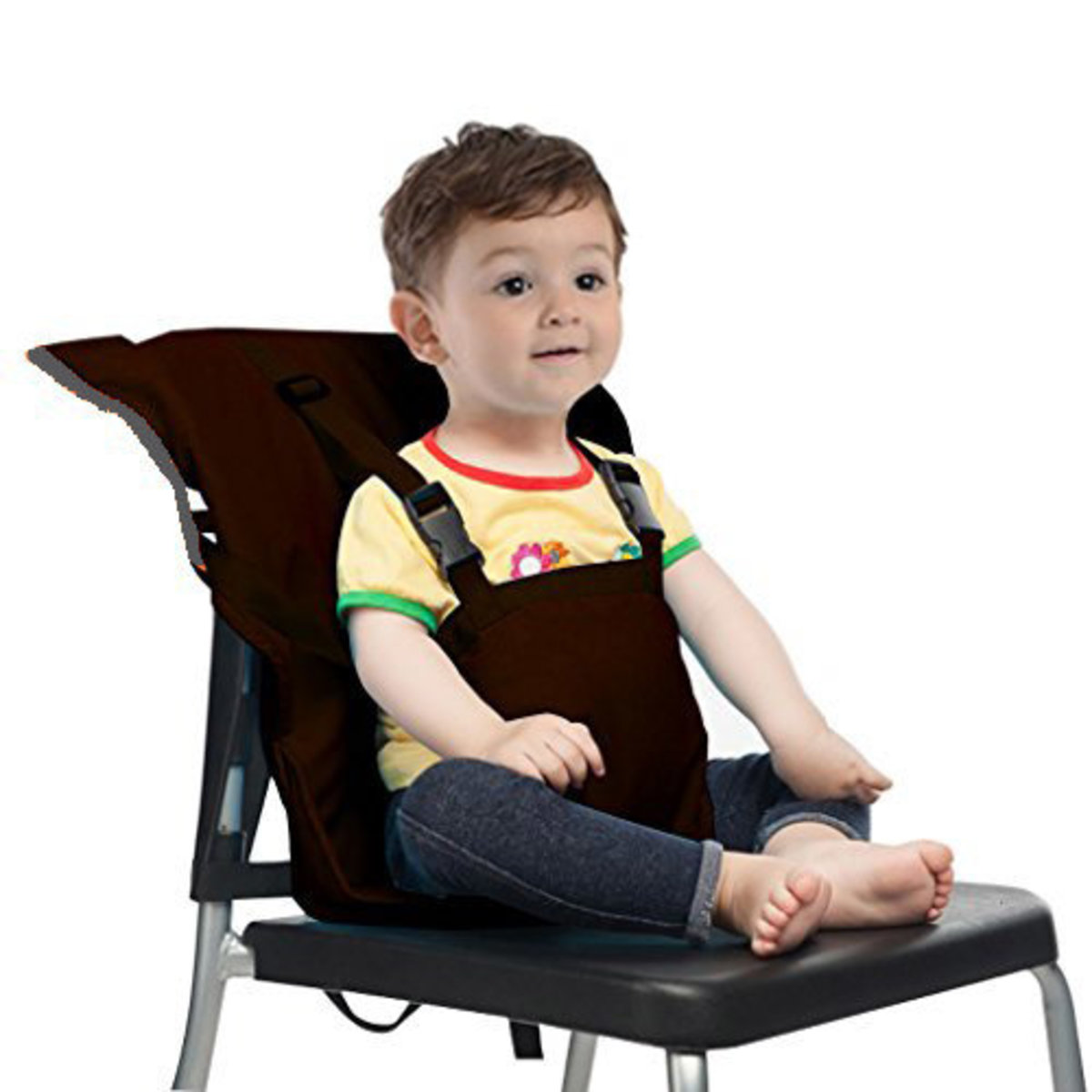 Portable Car Seat/Toddler Safe Cloth Chair Cover (Black)