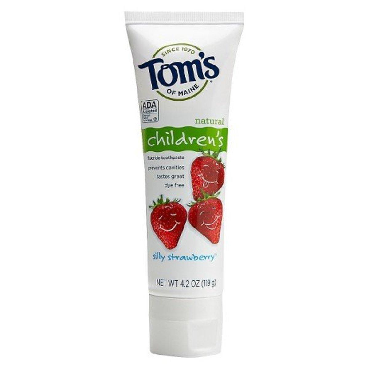 兒童牙膏-草莓味 (119g)
