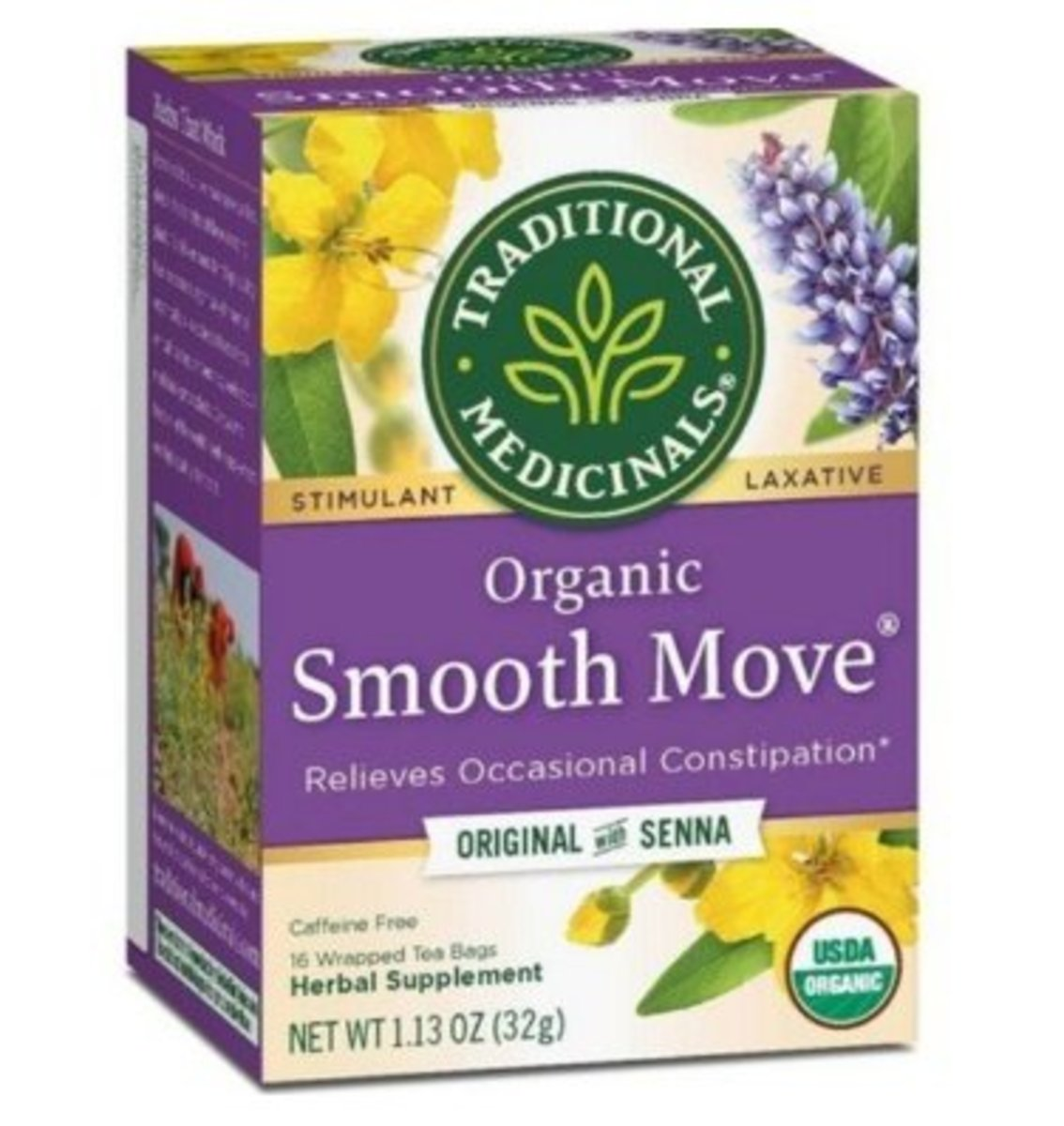 Organic Smooth Move (16Packs) (24g)-Paralle Import Goods