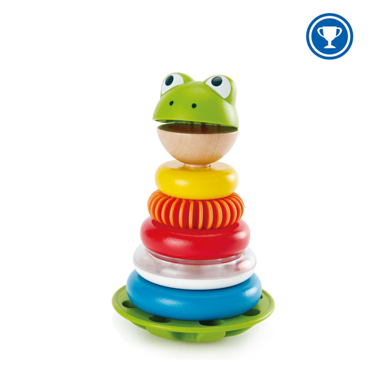 E0457-青蛙花式圓環堆塔