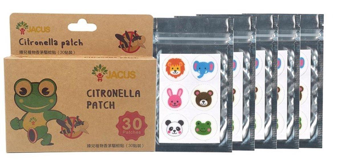 JACUS Citronella Patch-30pcs x 2pcs