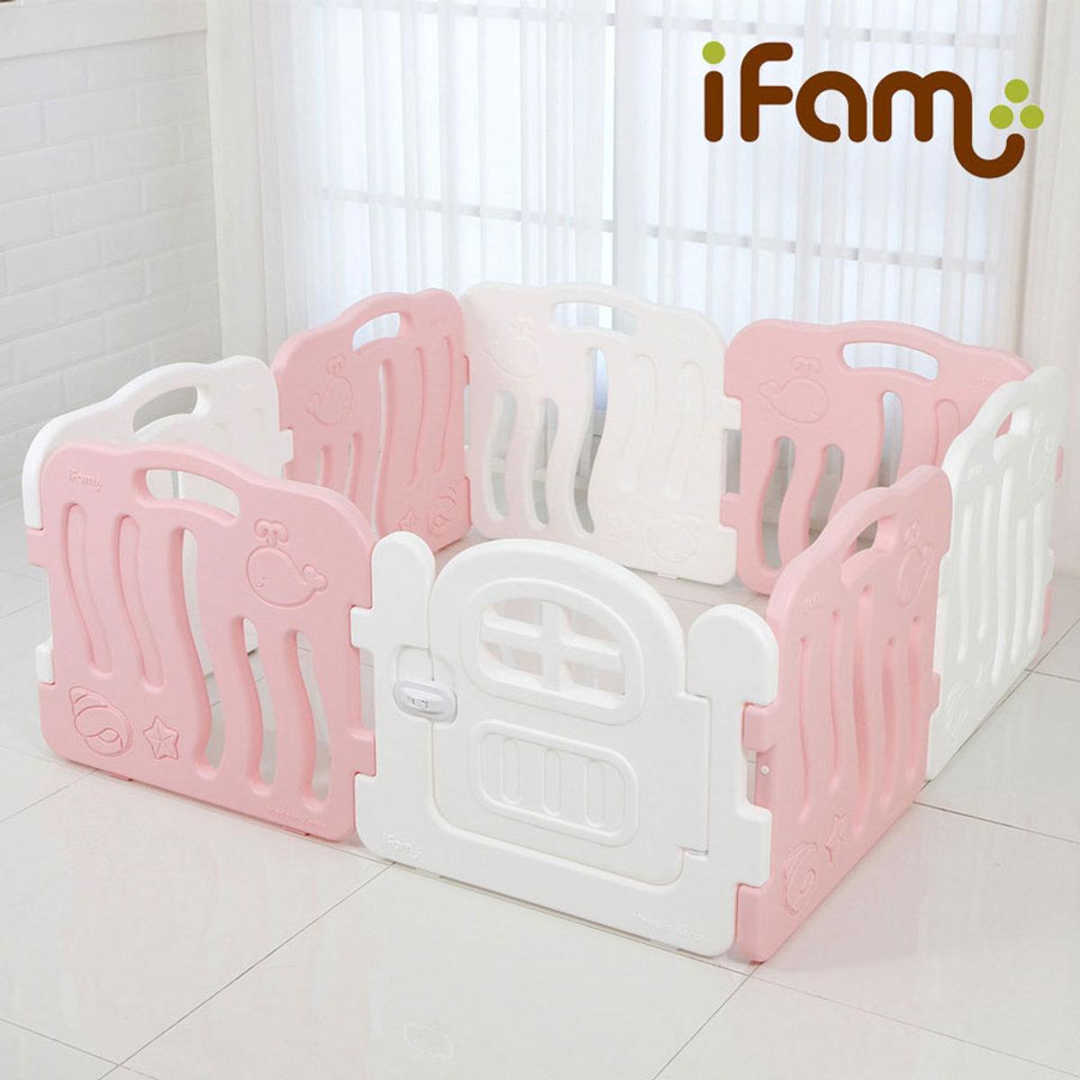 [IFAM] SHELL BABY ROOM WHITE_3EA+PINK_4EA+DOOR