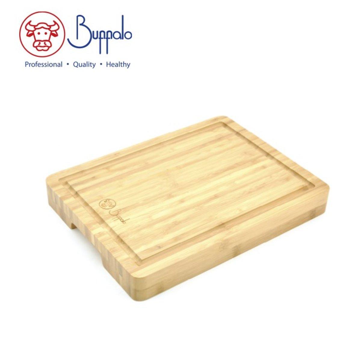Buffalo- Carbonized Natural Bamboo Chopping Board (40X28X3.8CM) (BF01CB4028)