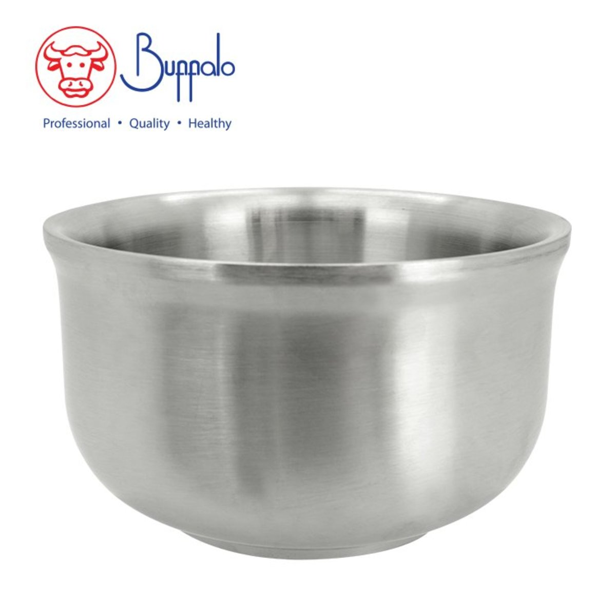 304 Stainless Steel Double Wall Korean Sytle Bowl (BFB002-12)