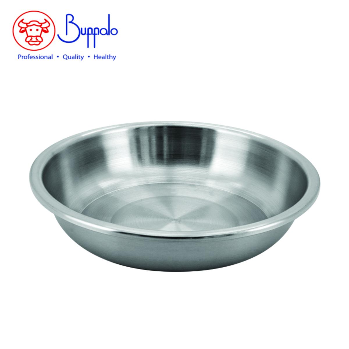 優質不銹鋼菜碟18厘米 (BFP001-18)