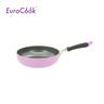24CM Non-stick Cookware Deep Fry Pan- Violet (EC21824T)