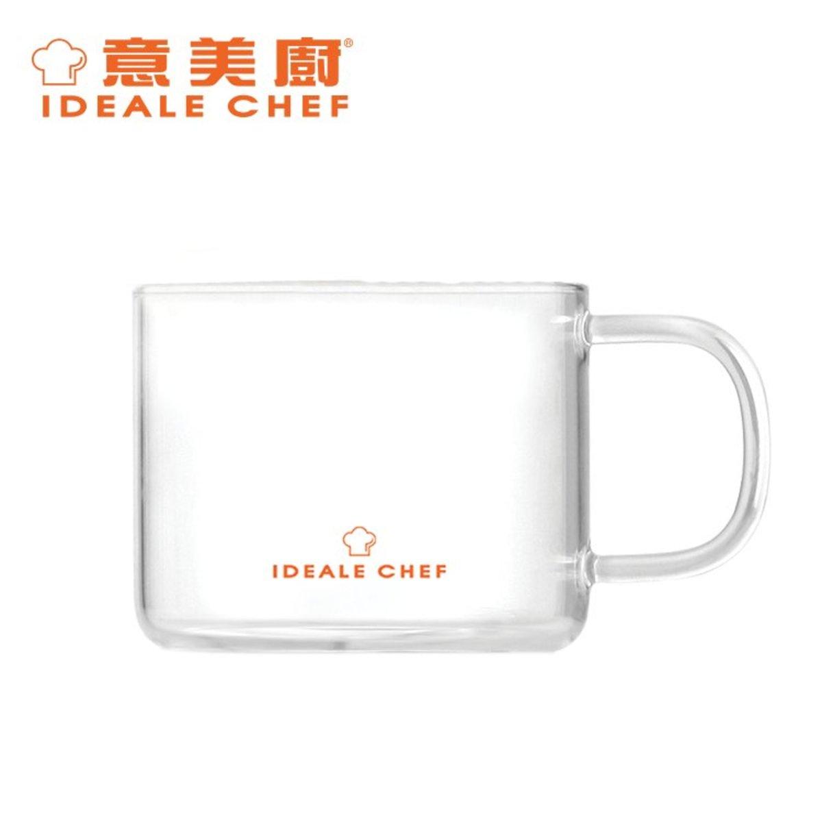Borosilicate Glass Mug 150ml (2pcs set) (ICBG007-015S)