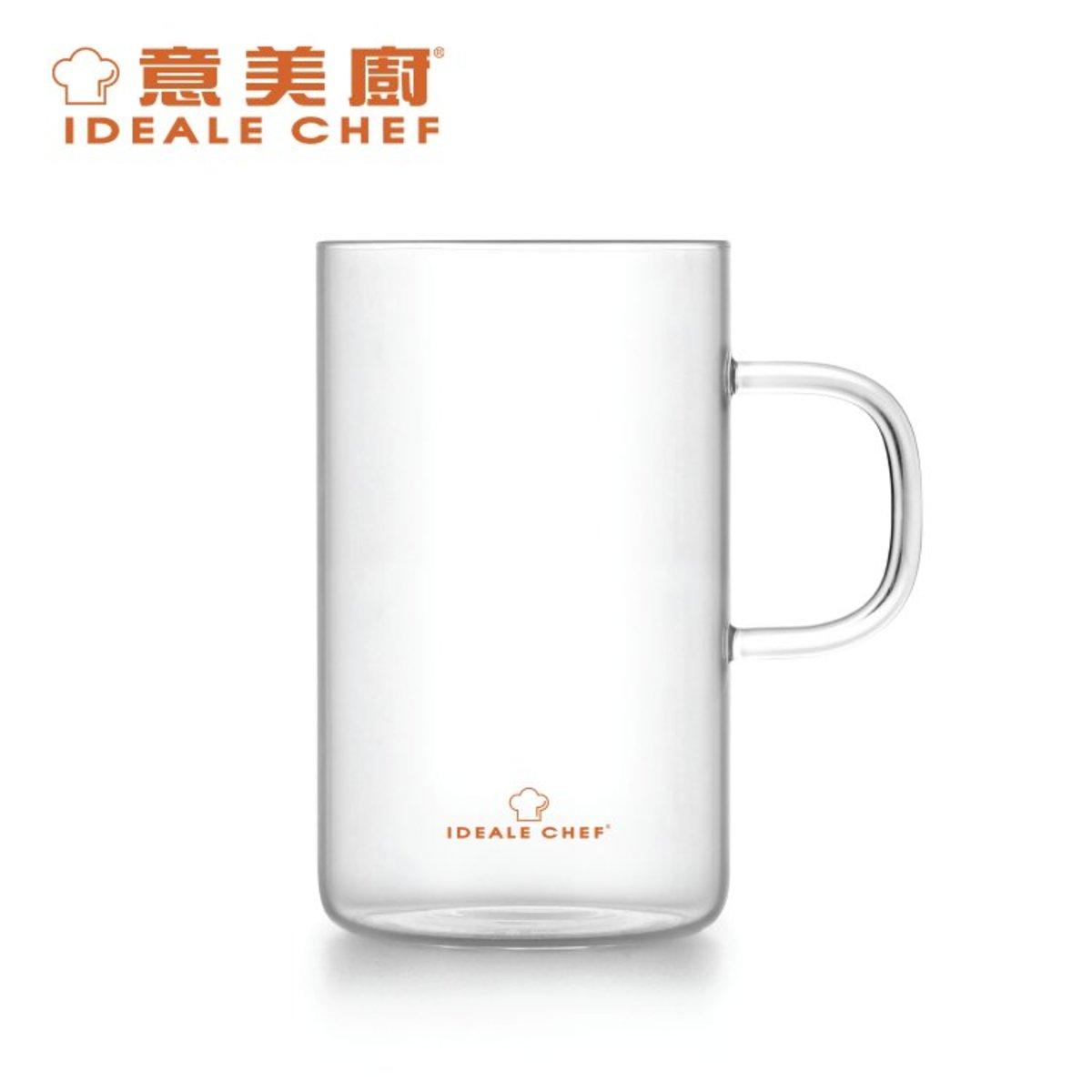 Borosilicate Glass Mug 300ml (2pcs set) (ICBG007-030S)