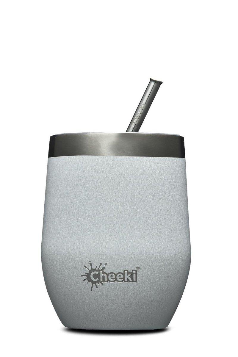 320ml Insulated Wine Tumbler Spirit White