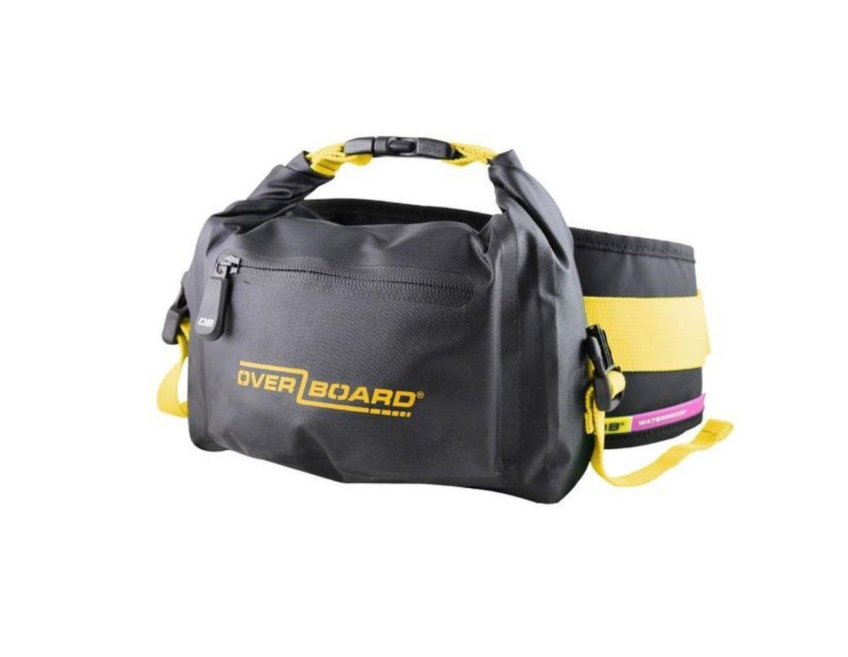 英國防水腰包 2 Litre Pro-Light Waist Pack Black/Yellow