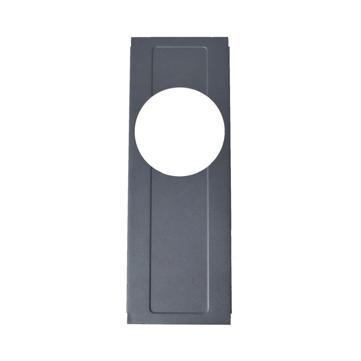 Cube Burner Plate Grey