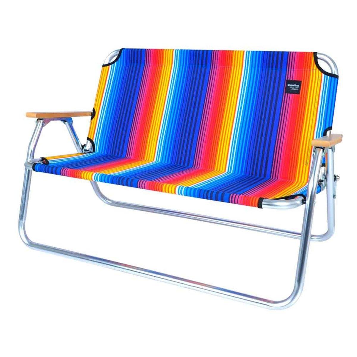 韓國露營椅 Folding Bench Rainbow