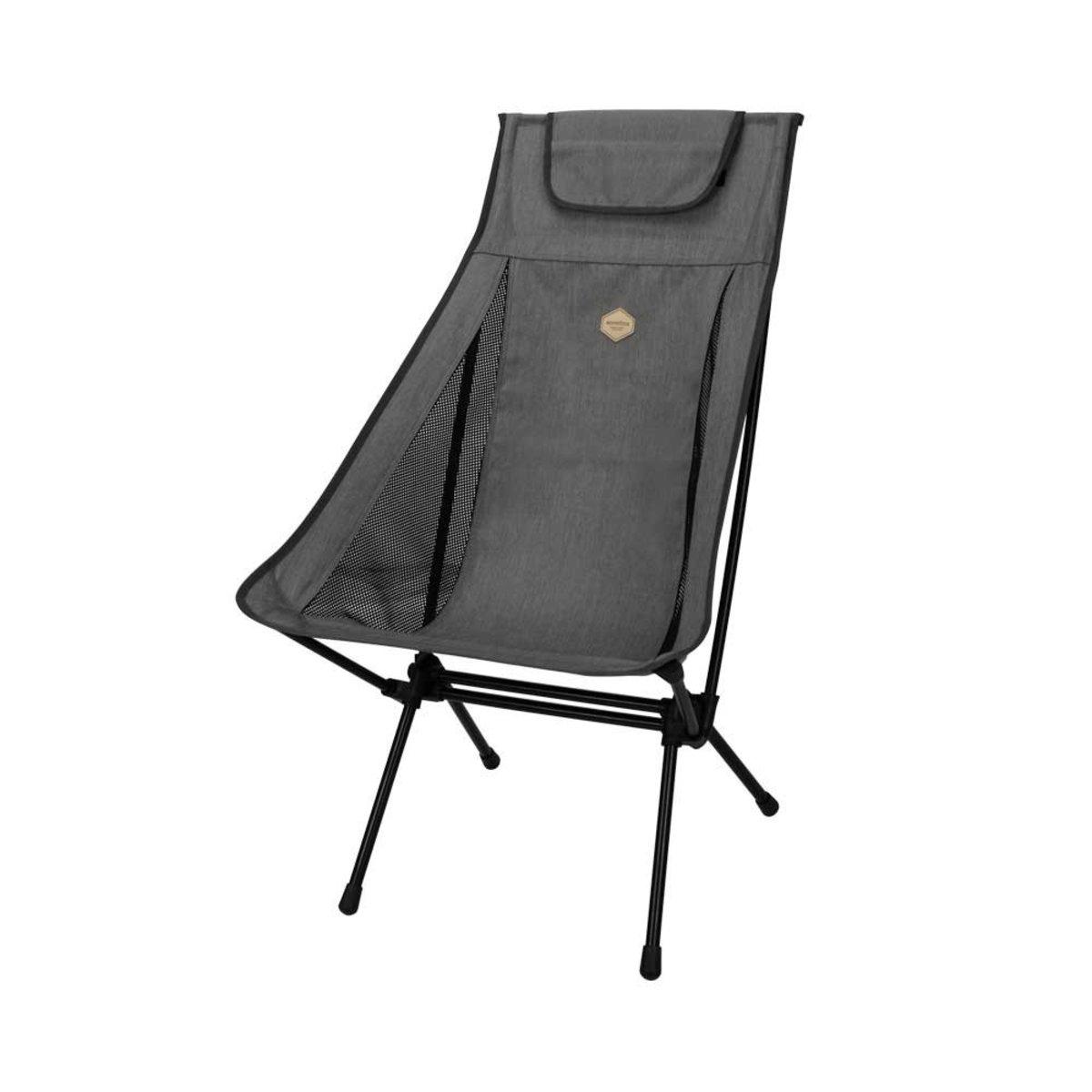 Pender Chair Wide Dark Grey