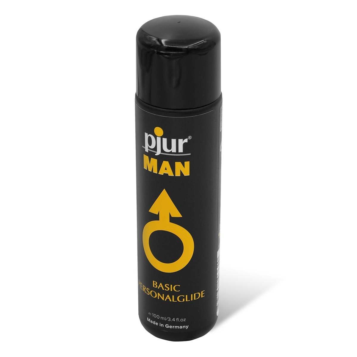 pjur MAN BASIC 100ml 矽性潤滑液