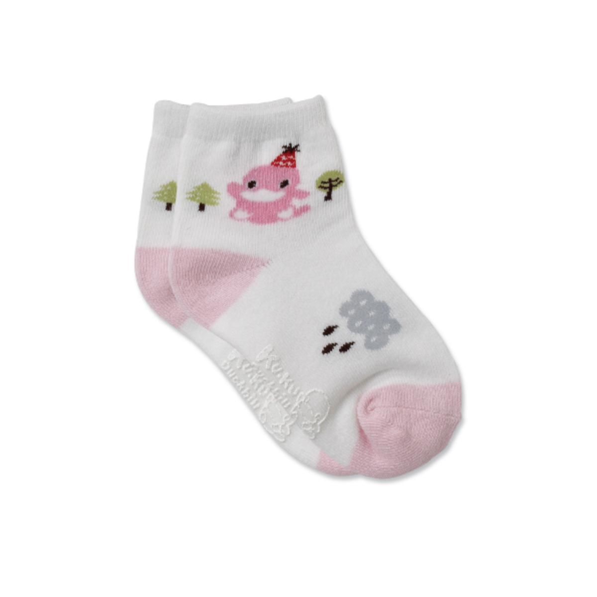森林兒童襪 - 粉紅色 (size: M)