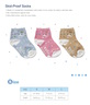 圓點兒童襪 -藍色 (size: S)