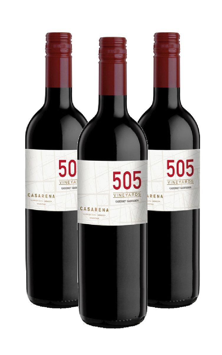 Casarena 505 Vineyards Cabernet Sauvignon-2016 x 3 bottles