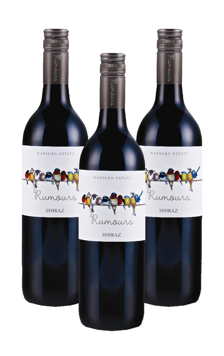 Rumours Shiraz-2019 x 3 bottles