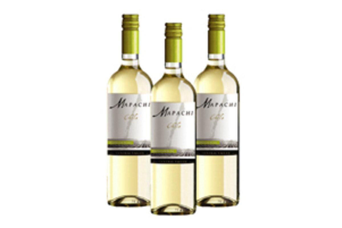 Mapachi Sauvignon Blanc-2018 x 3 bottles