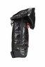 Waterproof Lightweight Zipper Backpack with Hood (Black/Red)