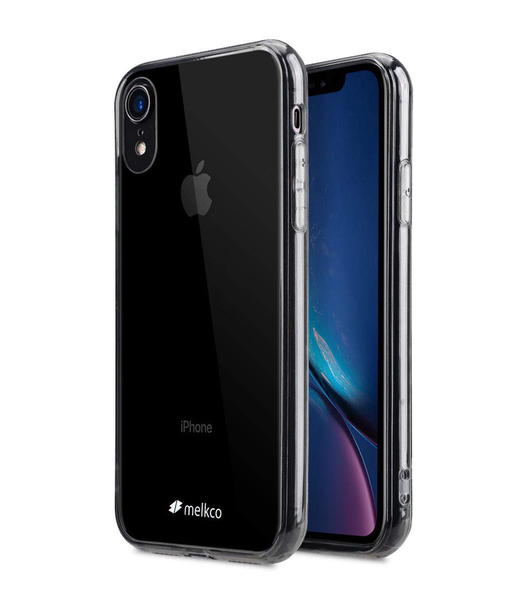 Apple iPhone XR PolyUltima Case ( Transparent/Black )