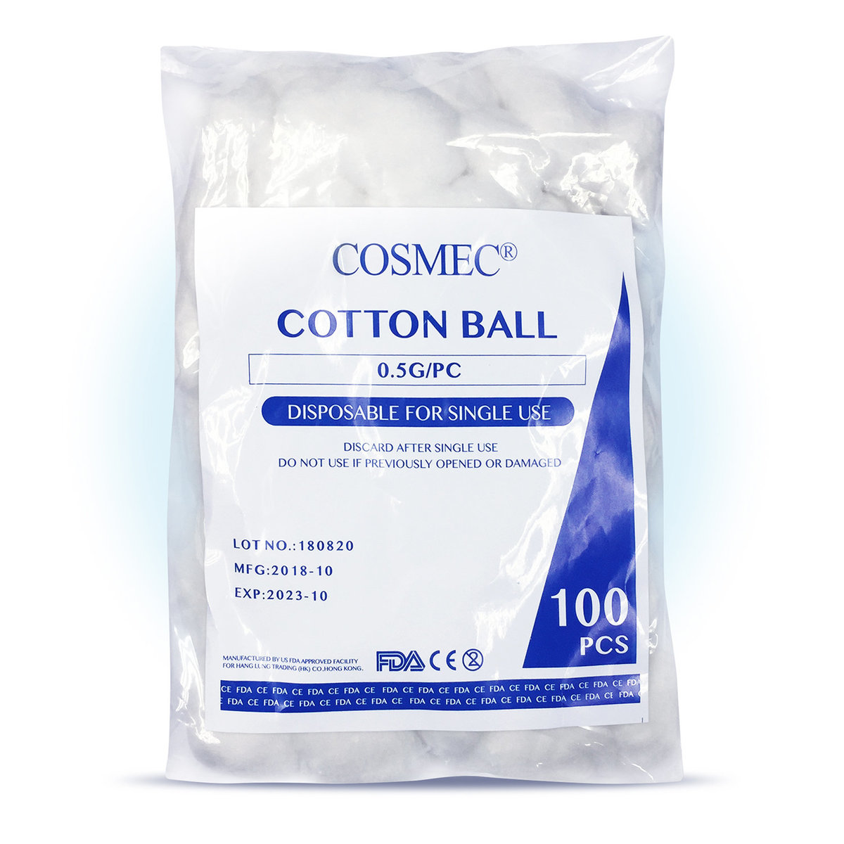 Cotton Ball 100pcs/bag