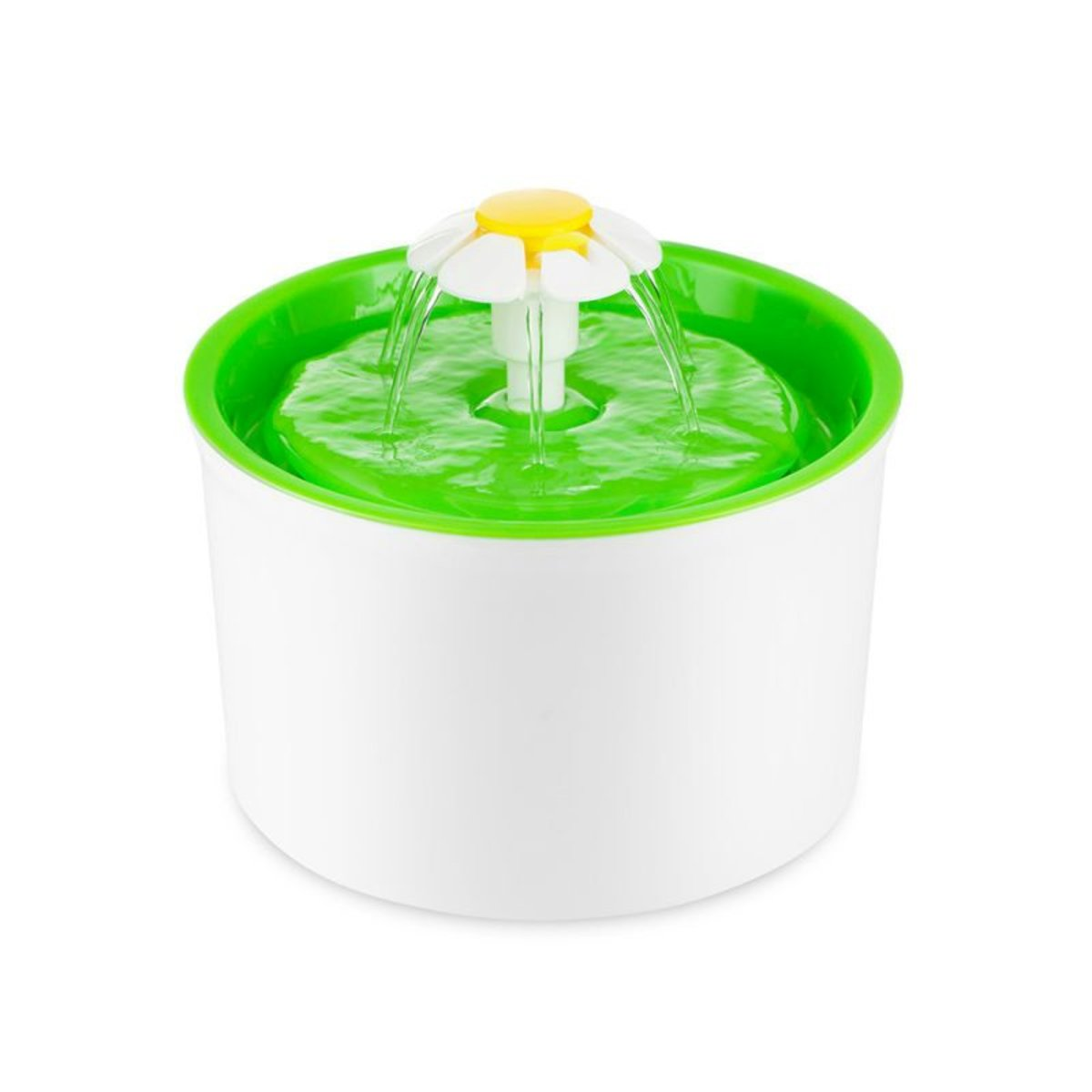 Flower Fountain for Pets (Green) With 3 Filters - Model: BeaconPetkit-FG