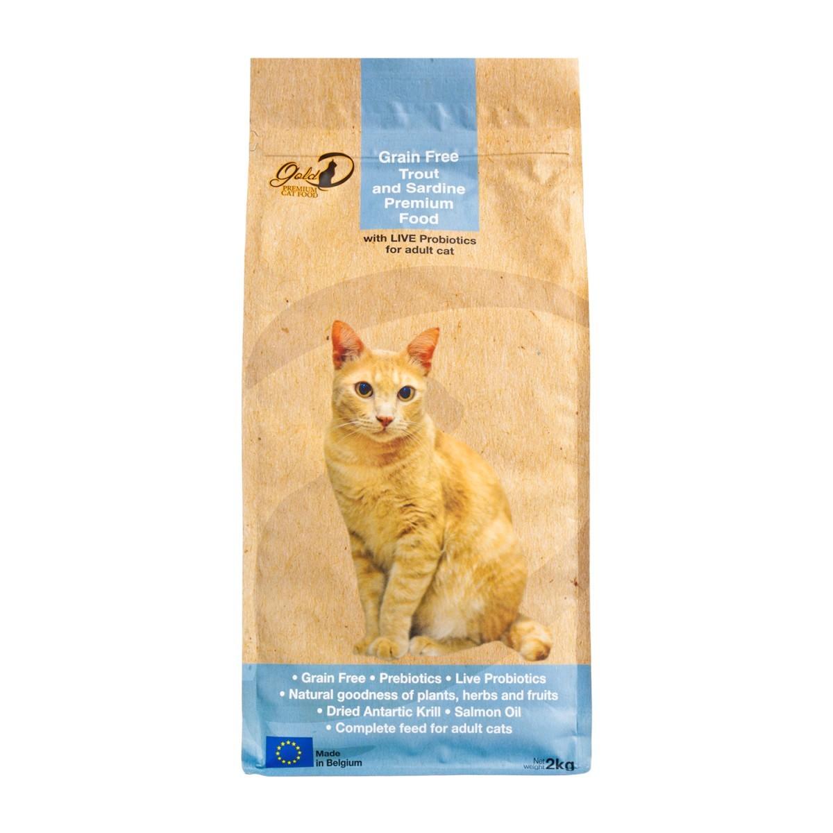 鱒魚、沙甸魚成貓糧 2公斤