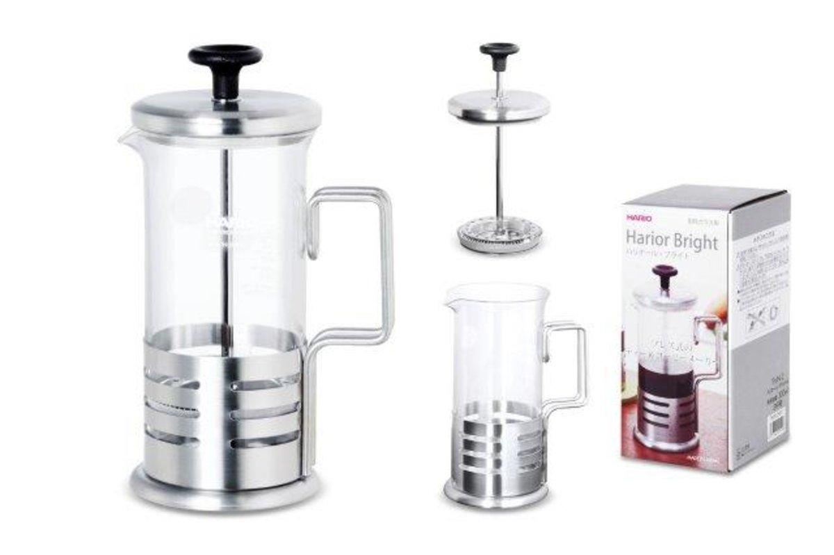 2C COFFEE PLUNGER-HARIO BRIGHT N