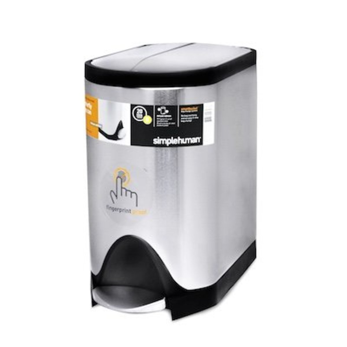 20L BUTT.STEP CAN-BRUSH-DELUXE【Authorised distributor import】