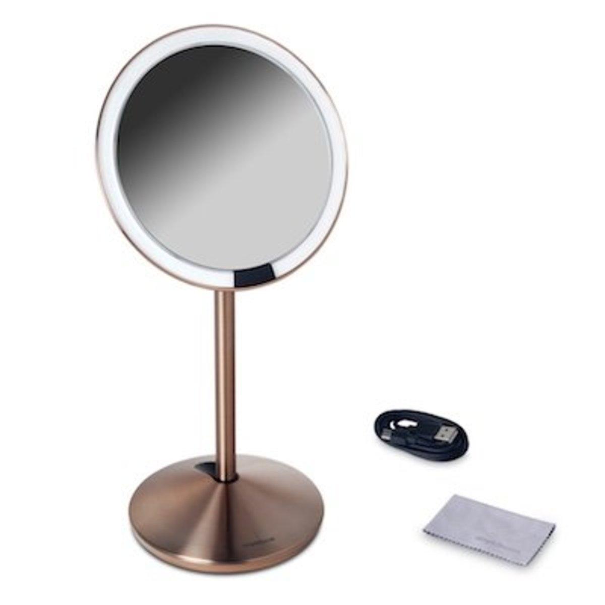 5吋自動感應座檯鏡   玫瑰金色【香港行貨】