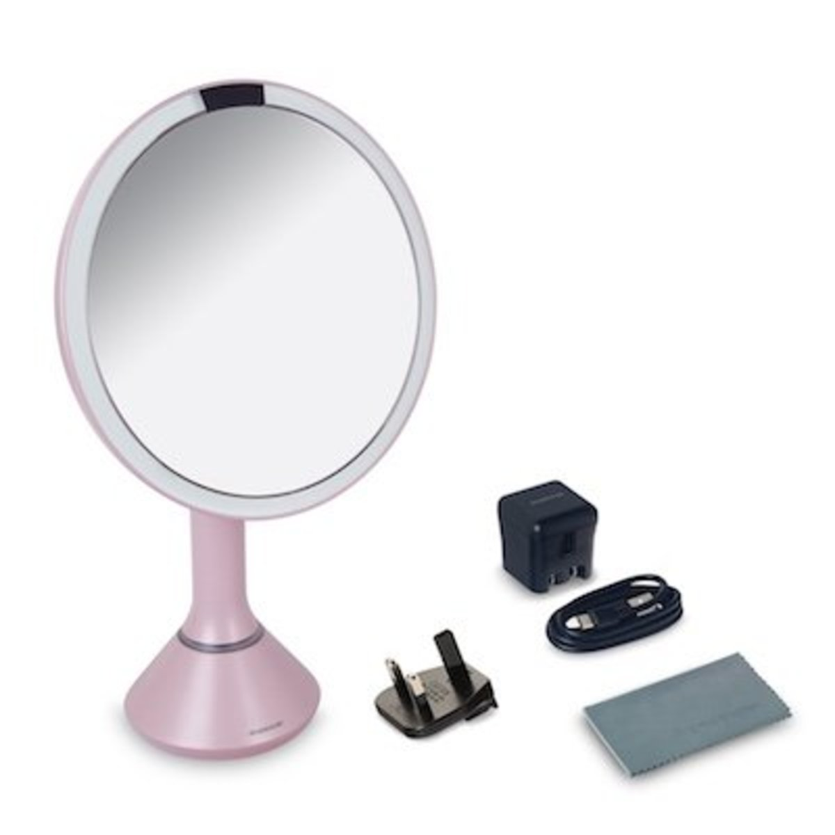 8IN TOUCH-CONT.MIRROR-PINK【Authorised distributor import】