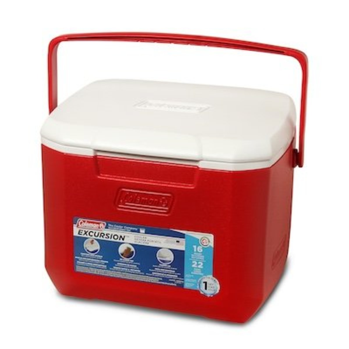 16Qt 15.1L Cooler-Red