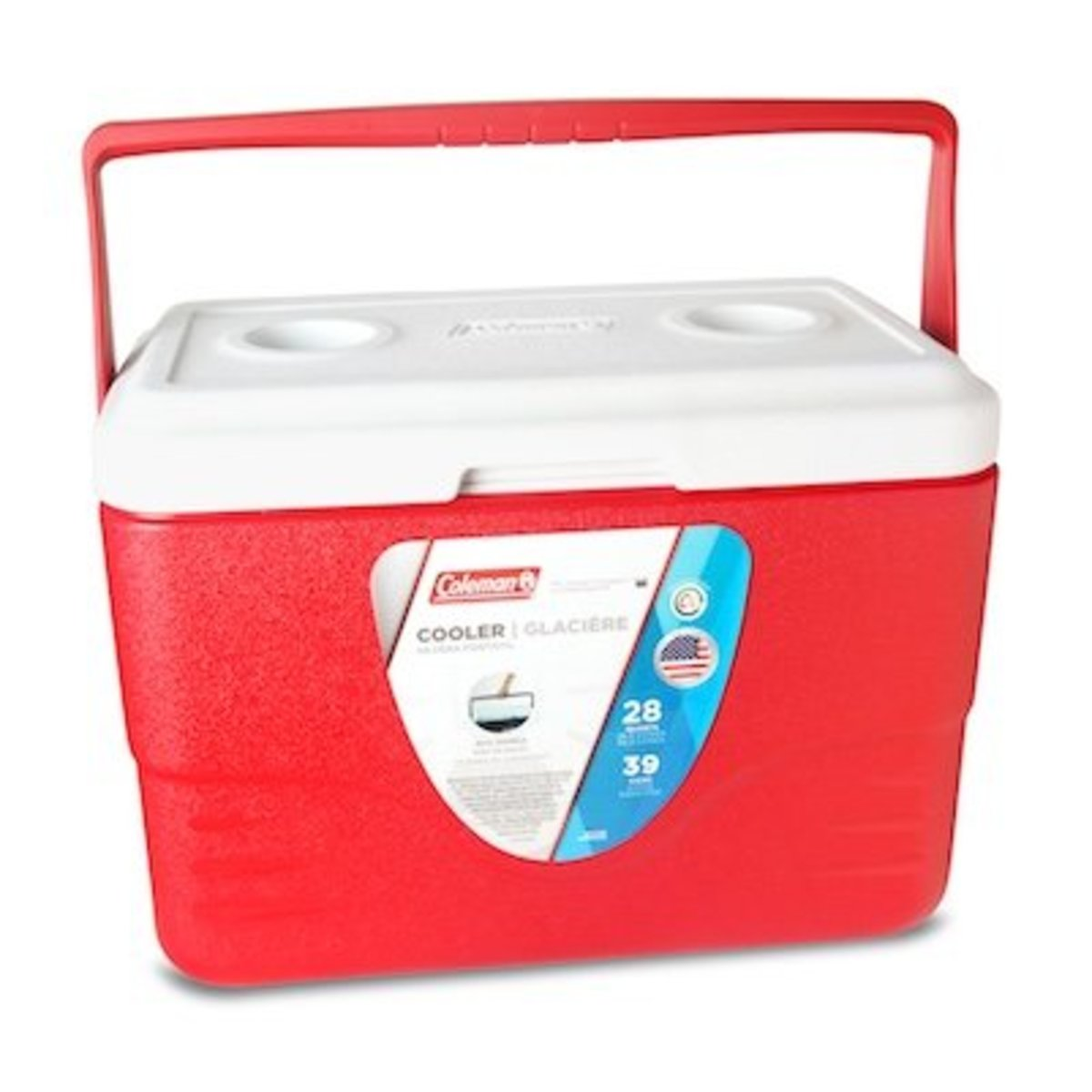 28Qt 26L Cooler-Red