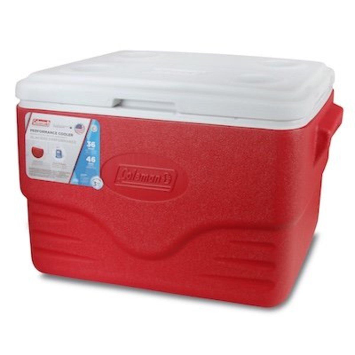 36Qt 34L Polylite Cooler-Red