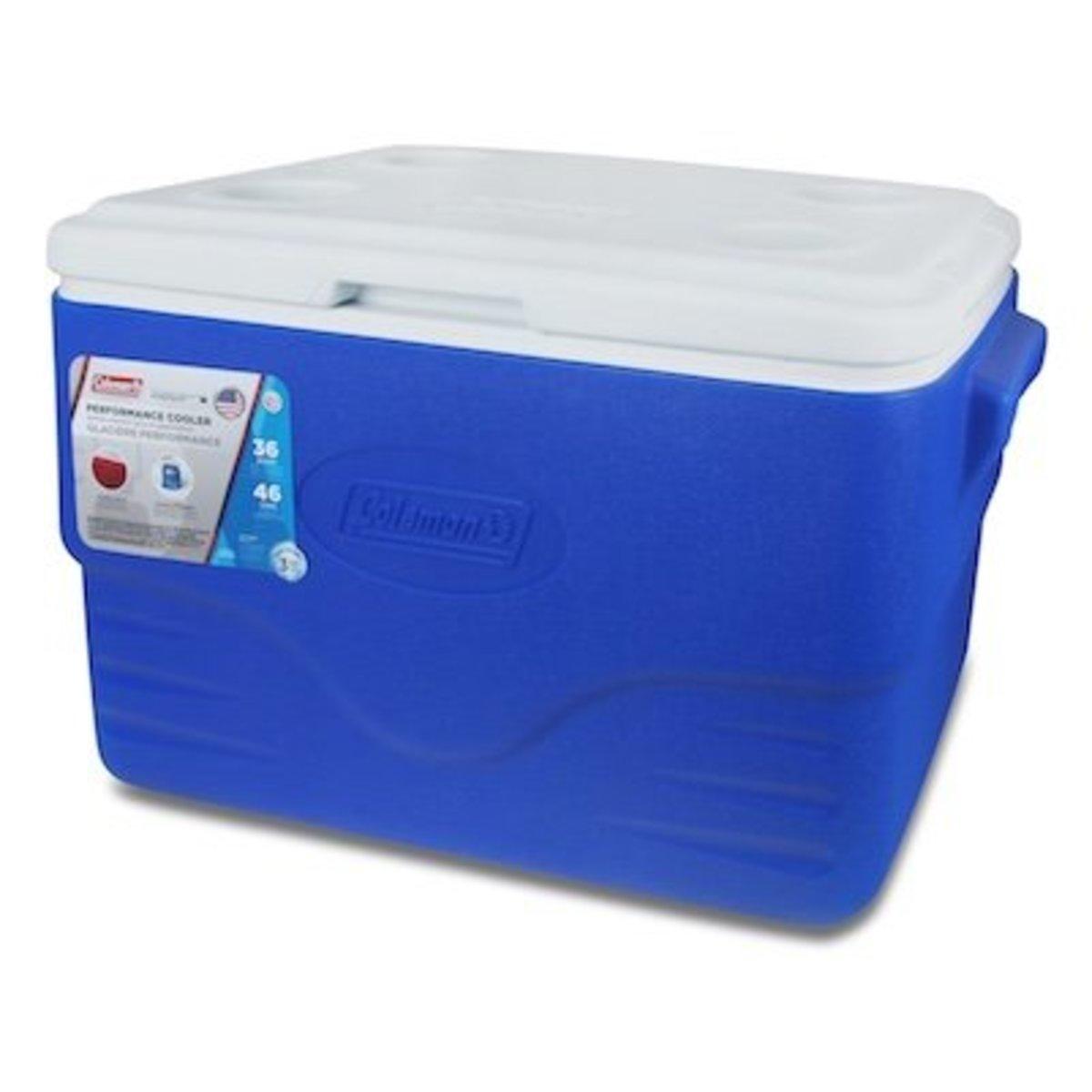 36Qt 34L Polylite Cooler-Blue