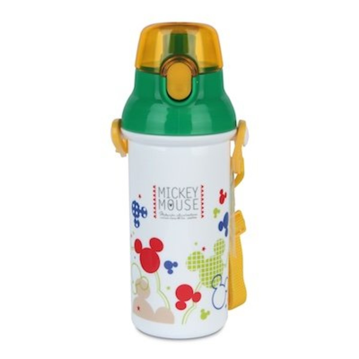 Disney Mickey Mouse 480ML One Touch Bottle [Licensed by Disney]