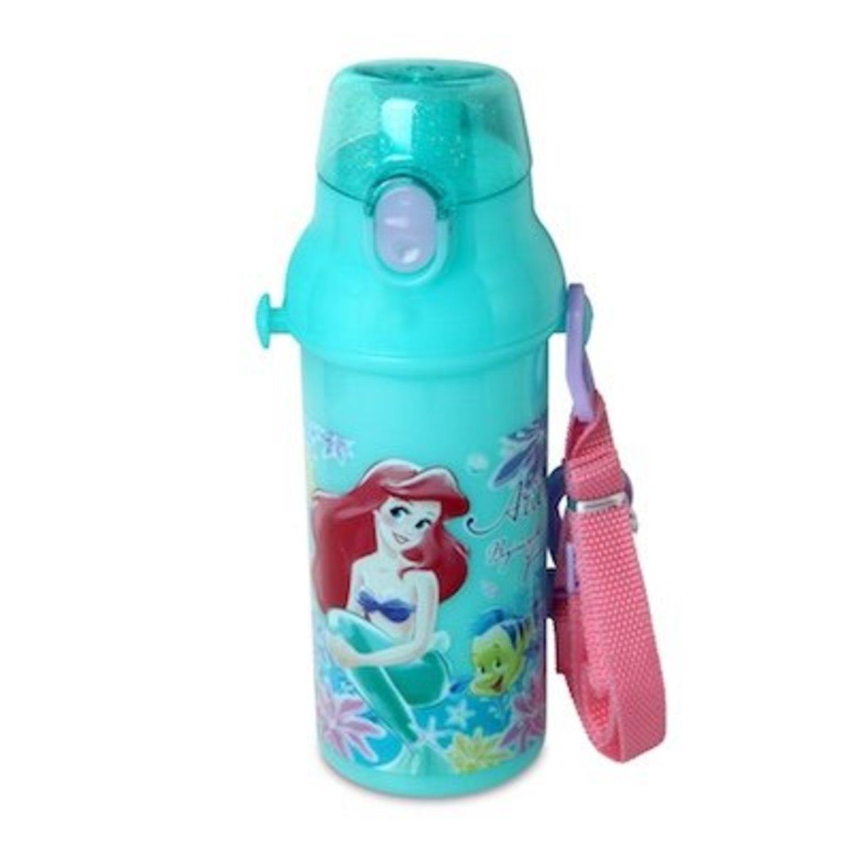 Disney Little Mermaid Ariel 480ML One Touch Bottle [Licensed by Disney]