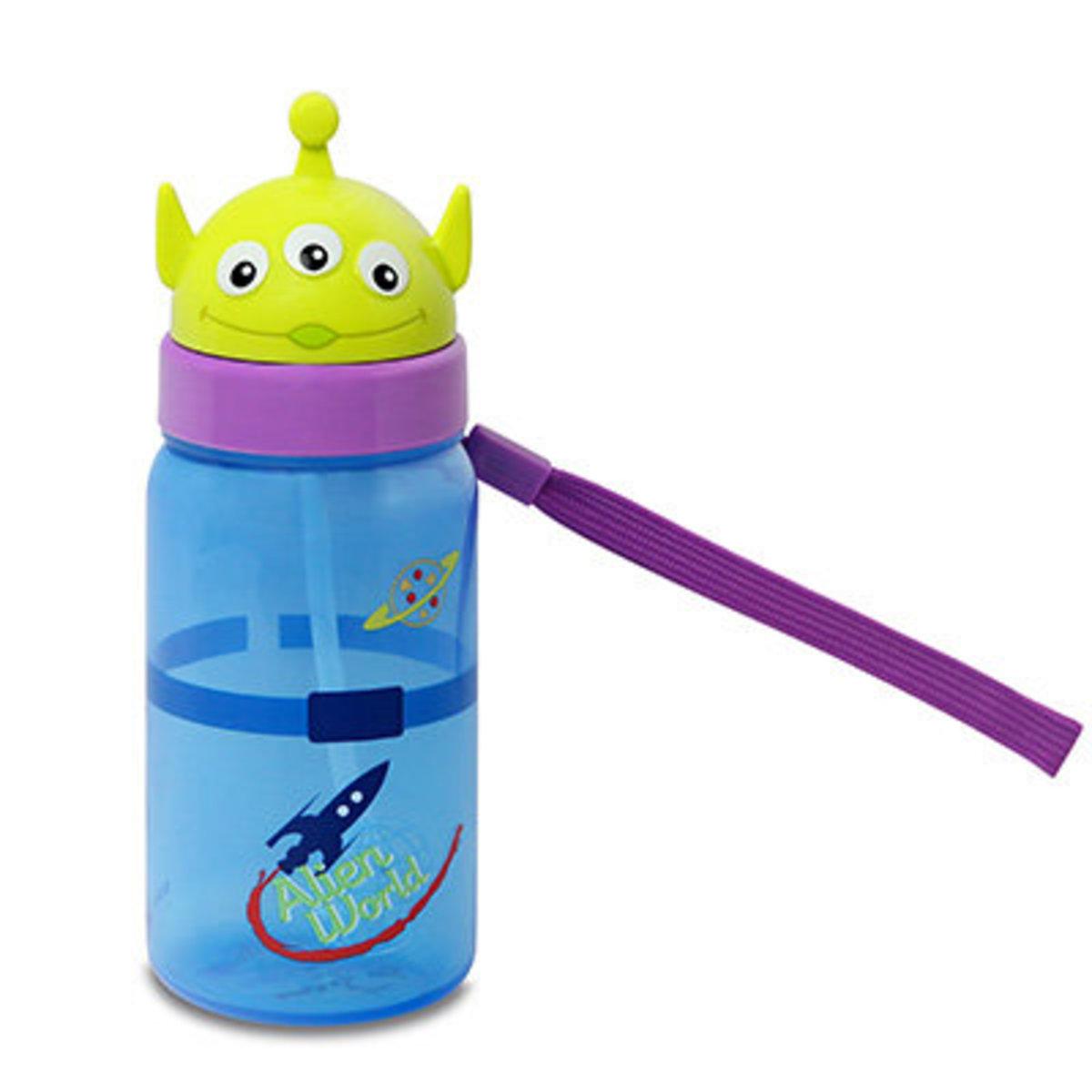 Toy Story Aliens 350ML Diecut Straw Bottle [Licensed by Disney]