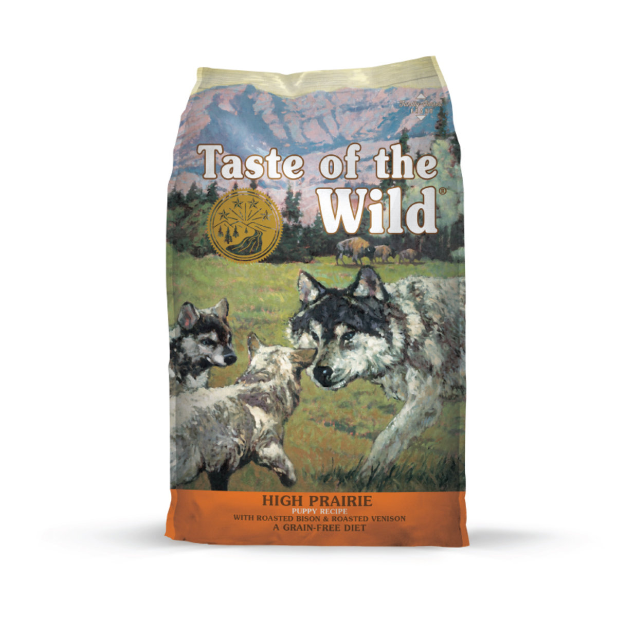 USA High Prairie Puppy® Recipe with Roasted Bison & Roasted Venison 5 lbs